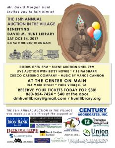 Auction in the Village - David M. Hunt Library